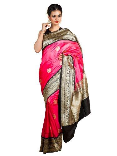 Nauravi Sarees-Bright Pink Nauvari Saree 7