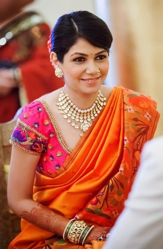 Nauravi Sarees-Maharashtrian Designer Saree 13