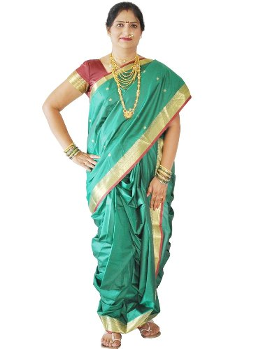Nauravi Sarees-Paithani And Nauvari Saree 8