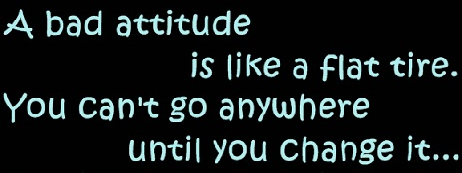 List Of Attitudes Negative Attitude