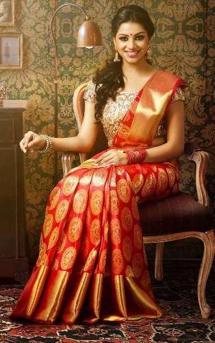 0825baf4d7 15 Beautiful and Traditional Pattu Sarees | Styles At Life