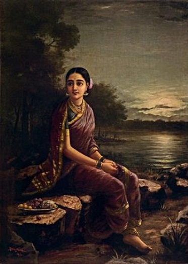 Painting Name List Radha in Moonlight