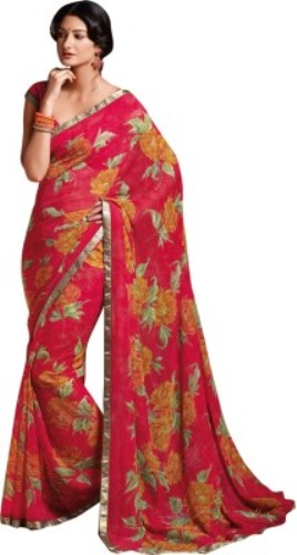 Red Valentine Laxmipati Saree 7