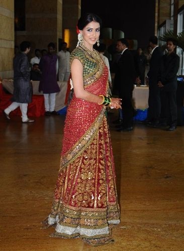 Sabyasachi South Indian Style Wedding Saree 3