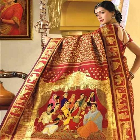 Silk Sarees Collections 1