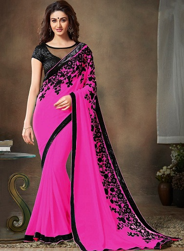 4f36258e5d394f 20 Stunning Shades of Pink Sarees That will Mesmerise You