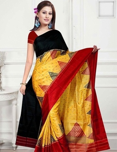 The Colorful Handloom Saree 15