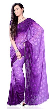 violet-saree-in-different-shades
