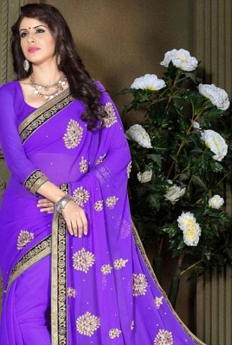 violet-silk-saree-for-ladies