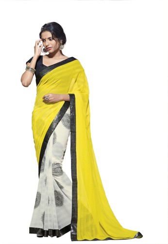Yellow Laxmipati Saree 6