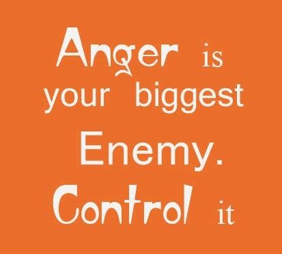 Negative Attitude List Anger