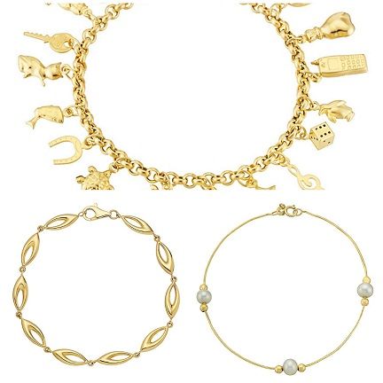 gold-bracelets-for-women-lucky-charm-gold-bracelets