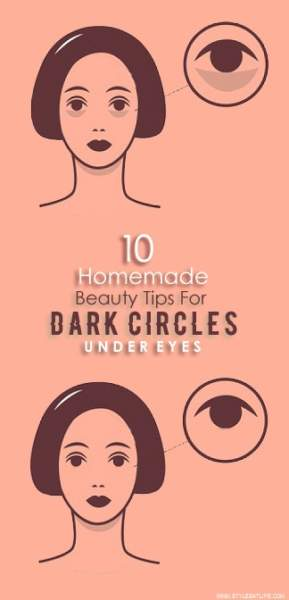 Homemade Beauty Tips For Dark Circles