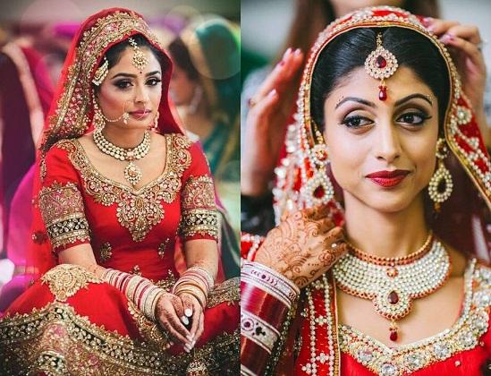 The Punjabi Bridal Look