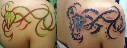 vine-and-diamond-tattoo-design-22