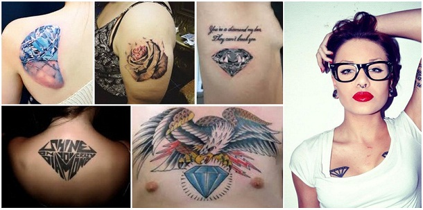 diamond tattoo designs