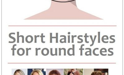 short hairstyles for round face cut