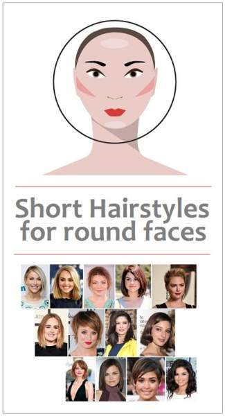 9 Classy Short Haircuts For Round Face Shape In Women 2018