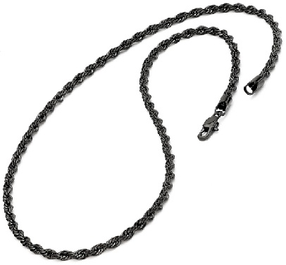 24-inch-mens-black-plated-stainless-steel-rope-chain3