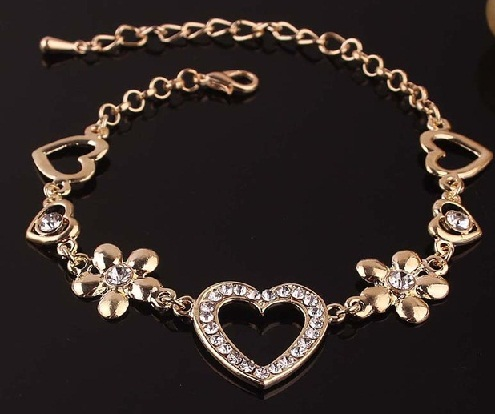 anklet-designs-diamond-and-heart-anklet