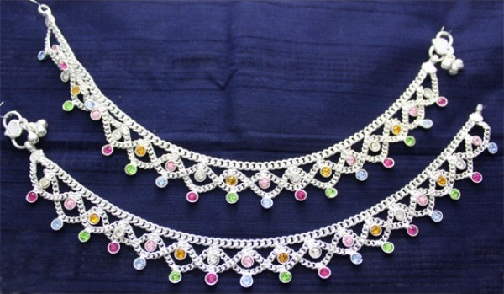 anklet-designs-silver-and-crystal-stone-anklet