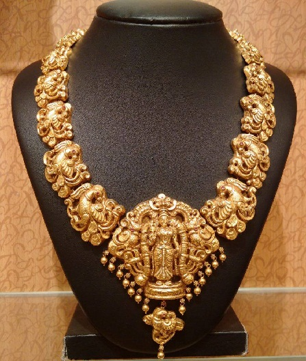 9 Best Designs of Antique Temple Jewellery | Styles At Life