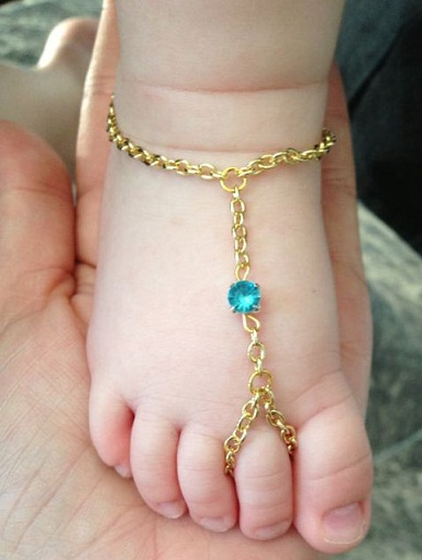 9 Cute Anklets For Babies Styles At Life