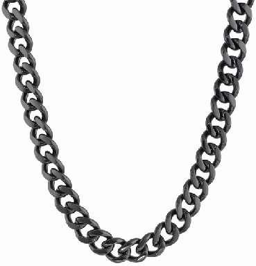 black-plated-stainless-steel-curb-chain13