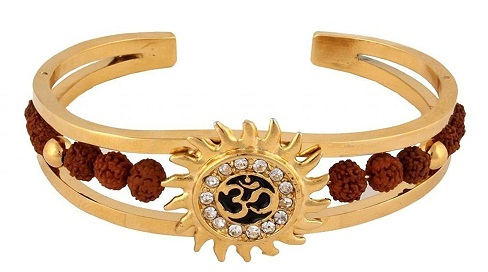 bracelets for men - bracelets with rudraksha