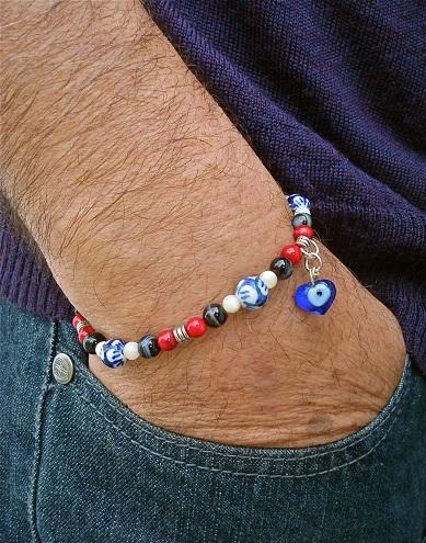 bracelets for men - evil eye bracelets