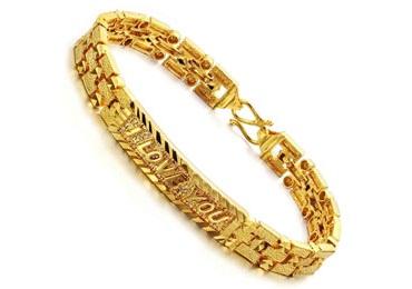 Men's Bracelets in Gold