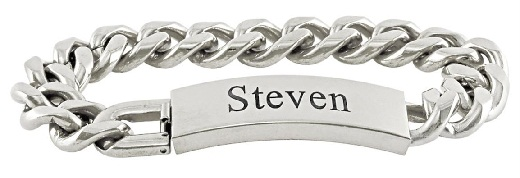 bracelets for men - personalised bracelets