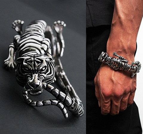 bracelets for men - tiger line bracelets