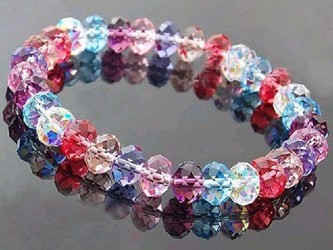 Women Bracelet Designs - crystal beaded bracelets