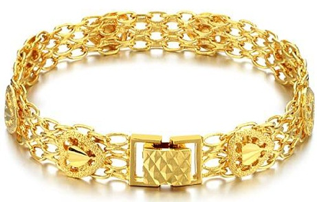 Women Bracelet Designs - Golden Bracelets