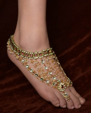 9 Popular Indian Bridal Anklets Designs Styles At Life