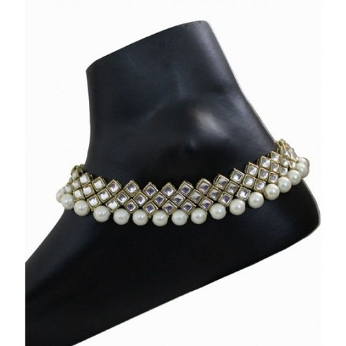 bridal-anklets-pearl-and-kundan-anklet