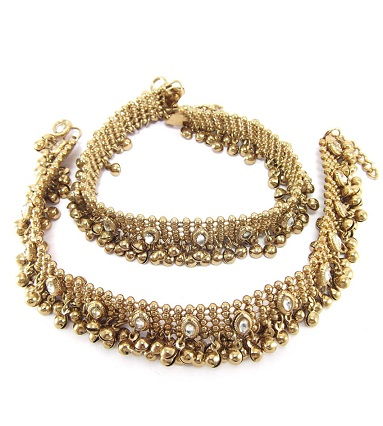 designer-anklets-antique-designer-gold-plated-anklet