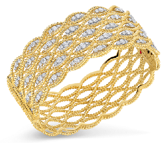 Designer Silver Bangle Bracelets