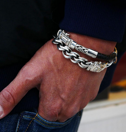 different-types-of-silver-bracelets-for-men
