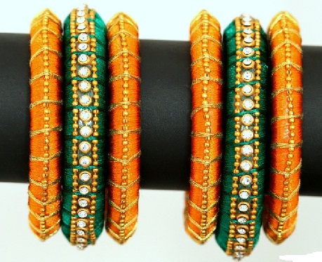 double-colour-paper-quilled-bangles