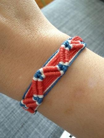 Double Wave Friendship Bracelets: