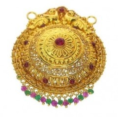 fancy-round-gold-mangalsutra-pendant-with-flower-and-stone-13