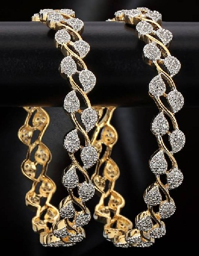 floral-design-diamond-bangles3