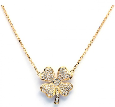 four-leaves-clever-charm-diamond-chain-12