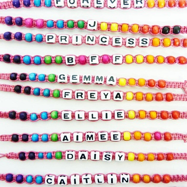 9 Cute Friendship Bracelets With Names For Best Friend