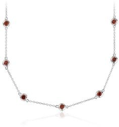garnet-gemstones-silver-chain-design-13