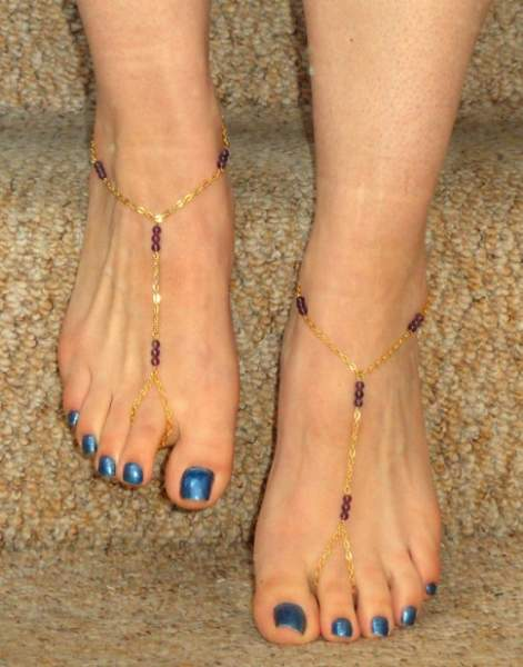 15 Beautiful Golden Anklet Designs Styles At Life