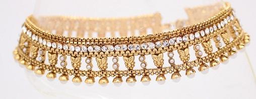 gold-anklets-designs-hand-made-gold-anklet