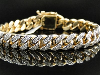 15 Indian Mens Bracelet Designs in Gold